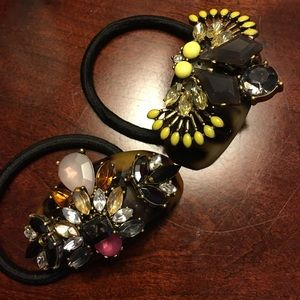 Anthropologie ponytail holder embellished NEW